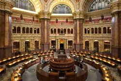 Libary of Congress Reading Room