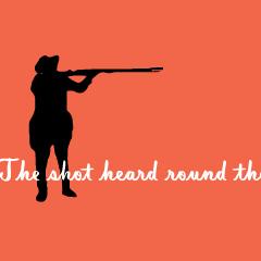 Shot heard around the world