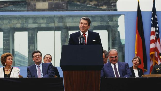 tearing down the berlin wall and freedom in remarks at the brandenburg gate by ronald raegan Start studying ronald regan learn vocabulary reagan spoke at germany's berlin wall open this gate mr gorbachev, tear down this wall.