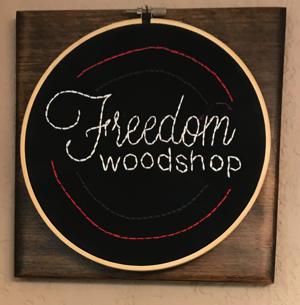 Freedom woodshop